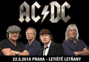 AC/DC v neděli rozpálí Letiště Letňany: Dopravní omezení se Praze nevyhnou
