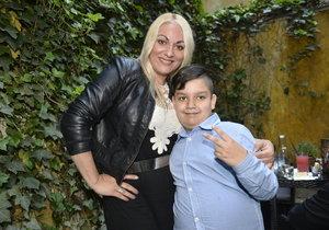 Martina Balogová se pochlubila synem Pepou.
