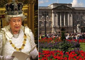 Buckinghamský palác čeká rekonstrukce za 12 miliard. Královna zůstane v paláci.