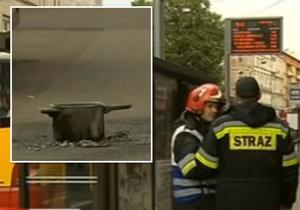 V autobuse ležela podomácku vyrobená bomba. Hrdinný řidič zachránil cestujícím život.