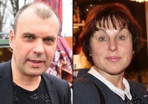 Exmanželé Petr Rychlý a Pavla Vojáčková nemají na rozvod pěkné vzpomínky.