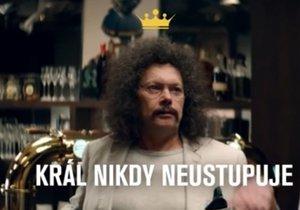 Pivní král z reklam na zlatavý mok Vladimír Černohorský