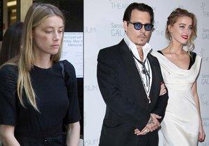 Amber Heard požádala o rozvod. Drogy podle ní udělaly z Johnnyho Deppa agresivního násilníka.