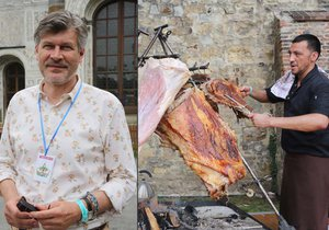 Zmrzlina z jater? To chci ochutnat, tvrdí zakladatel Prague Food Festivalu Pavel Maurer.