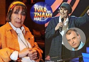 Jak hodnotí výkon Petra Rychlého v show Tvoje tvář má známý hlas Hana Hegerová, kterou naposledy předváděl?