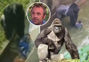 Levan Marriett (35) spadl jako pětiletý chlapec do gorilího výběhu. Nyní říká, že zastřelení Harembeho bylo v pořádku.