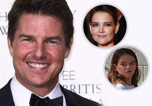 Tom Cruise kašle na svou dceru! Může za to scientologická církev.