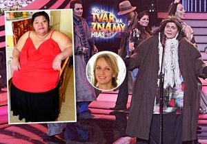 Romská zpěvačka Věra Bílá je naštvaná. Nova ji udělala tlustší, než je.