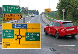Jak se při cestě do Chorvatska vyhnout slovinské dálnici?