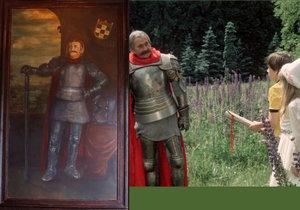 Kde skončil obraz Jiřího Sováka alias rytíře Brtníka z filmu Ať žijí duchové?