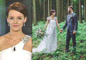 Gabriela Kratochvílová se vdala za svého dlouholetého partnera Filipa Laška.