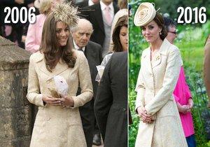 Kate Middleton se zřejmě řídí krédem: Kdo šetří, má za tři.