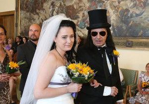 Svatba Aleše Brichty