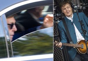 Paul McCartney zamával fanouškům v Praze!