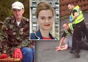 Zavražděná politička Jo Coxová: Zemřela patrně rukou Tommyho Maira