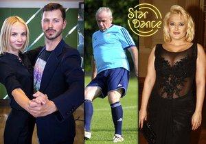 Kdo si zatančí v posledním ročníku StarDance? Kromě Jany Plodkové dostali nabídku i Vízek či Bittnerová.