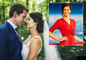 Moderátorka Jana Marečková se vdala.