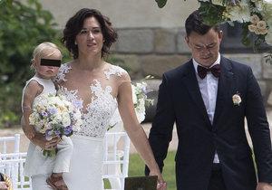 Chymčáková a Hudler už jsou manželé.