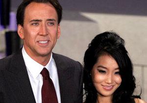 Americký herec Nicolas Cage řeší už 3. rozvod.