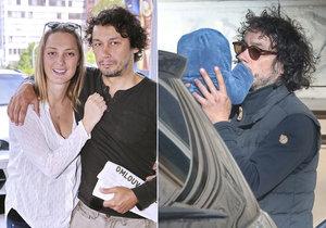 Pavel Liška prozradil, proč s Bárou Polákovou pojmenovali dceru Ronja.