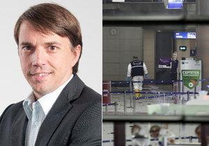 Jiří Kozák přistál na letišti v Istanbulu patnáct minut po sebevražedných útocích.