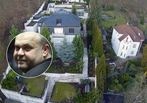Krejčířova vila v Černošicích patří do exekuce, rozhodl soud.