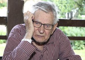 Jan Skopeček žije v domově důchodců.