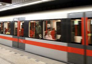 Trasu C metra čeká plánovaná výluka. (Ilustrační foto)