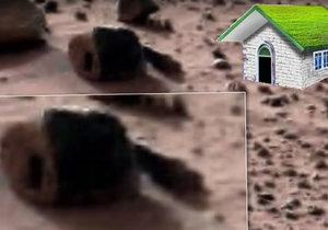 NASA zachytila podivné těleso na Marsu. Fandové do UFO tvrdí, že jde o obydlí marťanů.