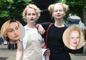Najdete pět rozdílů? Anna Linhartová a Anna Fialová vypadají jako siamská dvojčata!