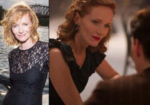 Známá česká herečka Anna Geislerová je jednou z hvězd mezinárodního válečného dramatu Anthropoid.