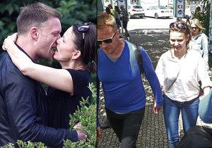 Melíšková hraje s Taušem v seriálu Modré stíny. Přerostla práce v něco víc?