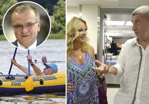 Kam se v létě chystají čeští politici? Zeman již byl na rybníce, Babiš míří s rodinou do Francie a Itálie, Kalousek na Krétu.