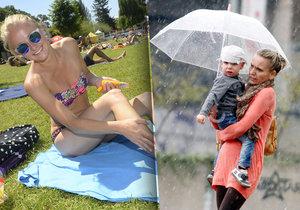Na vysvědčení i začátek prázdnin čekejte déšť. V červenci se vrátí tropy