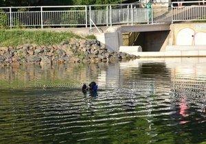 Nešťastná smrt pod hladinou: Mladý cizinec utonul v rybníce v Říčanech