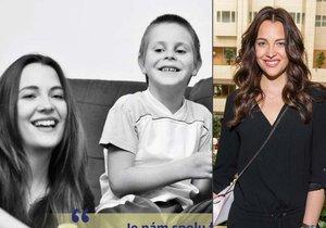 Kateřina má nevlastního bratra autistu.