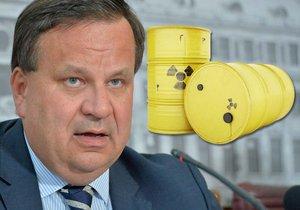 Ministr průmyslu a obchodu Jan Mládek (ČSSD) představil další postup při výběru lokalit pro budoucí hlubinné úložiště vyhořelého jaderného paliva.