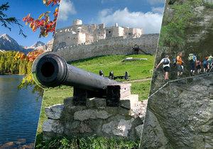 Vyražte na dovolenou na Slovensko