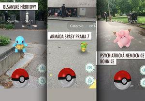 Pokémony najdete na hřbitově i mezi bezdomovci v Armádě spásy.