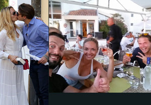 Novomanželé Taťána a Ondřej Gregorovi