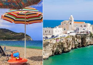 Italské Gargano láká turisty: Krásné pláže, dobré jídlo a zasloužený klid