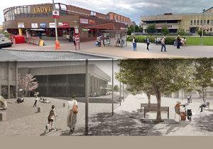 Na rekonstrukci stávajícího náměstí u stanice metra Ládví by se mělo začít pracovat na jaře 2017.