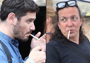 Richard Genzer a Vojtěch Kotek hodně kouří.