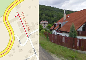 Radotín má novou ulici Na Krupičárně. Jmenuje se po bývalých majitelích domu