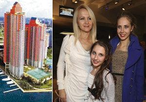 Vdova po Stanislavu Grossovi (†45) Šárka Grossová (46) tráví spolu s dcerami léto na Floridě v Miami.