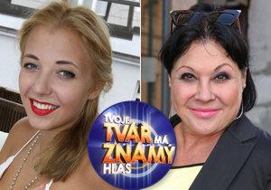 Dáda Patrasová má důvod k radosti. Dcera Anička bude jednou ze soutěžících show Tvoje tvář má známý hlas.