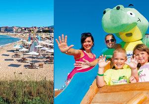 Jak si užít dovolenou s dětmi?
