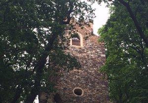 Rozhledna Cibulka v pražských Košířích