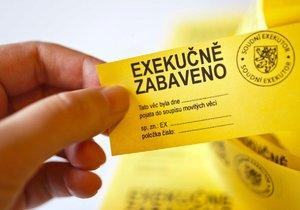 Exekucím čelí v průměru každý jedenáctý Čech nad 15 let.