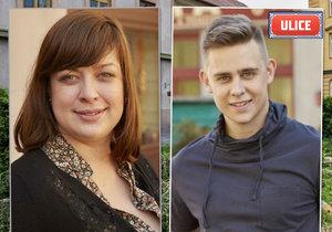 Syn Veroniky Žilkové Vincent Navrátil a Anežka Rusevová míří do seriálu Ulice!